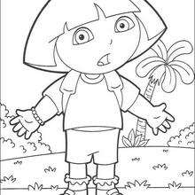 Dibujo para colorear : Dora N°6