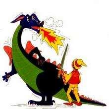 Ilustración : Dragón