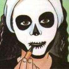 Manualidad infantil : Maquillaje de Calavera para Halloween