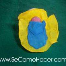 Manualidad infantil : Muñeco del niño Jesús