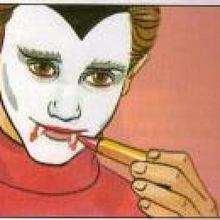 Maquillaje de VAMPIRO para Halloween - Manualidades para niños - MAQUILLAJE para niños - Maquillajes para HALLOWEEN