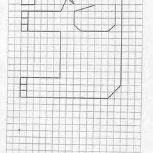 Juego de geometria ELEFANTE - Juegos divertidos - Juegos para IMPRIMIR - Juegos de OBSERVACION - Juegos de GEOMETRIA