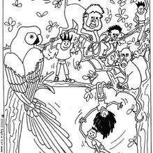 Colorear animales salvajes - Dibujos para Colorear y Pintar - Dibujos para colorear ANIMALES - Dibujos ANIMALES SALVAJES para colorear - Dibujos para colorear e imprimir ANIMALES SALVAJES - Colorear ANIMALES SALVAJES