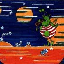 Ilustración : ET en bañador