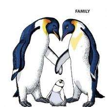 Dibujo para colorear : Familia