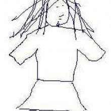 Laura - Dibujar Dibujos - Dibujos de NIÑOS - Dibujo de los niños POR LA PAZ