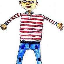 Julian - Dibujar Dibujos - Dibujos de NIÑOS - Dibujo de los niños POR LA PAZ