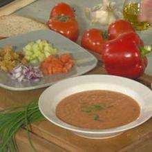 Gazpacho andaluz - Manualidades para niños - Actividades infantiles COCINAR - Las mejores recetas - Sopas