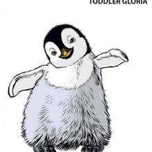 Gloria de niño - Dibujos para Colorear y Pintar - Dibujos de PELICULAS colorear - Dibujos para colorear HAPPY FEET PELICULA - Dibujos para colorear PINGUINOS HAPPY FEET