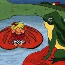 La rana y el nenúfar