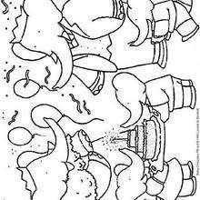 ¡ Feliz cumpleaños ! - Dibujos para Colorear y Pintar - Dibujos para colorear PERSONAJES - PERSONAJES ANIME para colorear - Babar el elefante para pintar