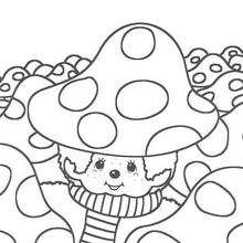 Kiki 8 - Dibujos para Colorear y Pintar - Dibujos para colorear PERSONAJES - PERSONAJES ANIME para colorear - Kiki el mono para pintar