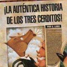 La autentica historia de los tres cerditos - Lecturas Infantiles - Libros INFANTILES Y JUVENILES - Libros INFANTILES - de 6 a 9 años