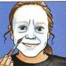 Manualidad infantil : Maquillaje de BRUJA de Halloween para niñas