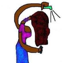 Ilustración : El cabello de Aisha