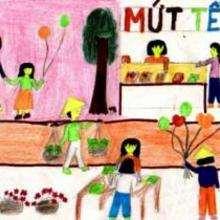 Fiesta del Têt en Vietnam 2 - Dibujar Dibujos - Imagenes para niños - Imagenes del MUNDO - En Asia