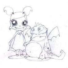 La bruja y el dragón