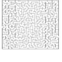 Página para imprimir : OBSERVACION laberinto muy dificil