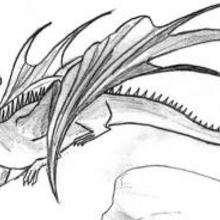 Ilustración : Dragón de Halloween