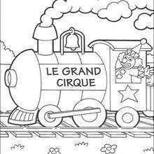 Dibujo para colorear : El gran circo 2