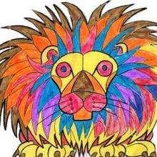 El león - Dibujar Dibujos - Dibujos de NIÑOS - Dibujos de ANIMALES - Dibujos de  animales por ORDENADOR