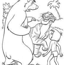 akela coloring pages - photo#11