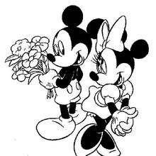 Dibujos para colorear mickey y minnie los enamorados es mickey y minnie los enamorados altavistaventures Choice Image