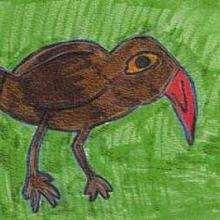 El pájaro - Dibujar Dibujos - Dibujos de NIÑOS - Dibujos de ANIMALES - Dibujos de  animales por ORDENADOR