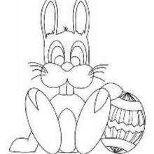 Libro para niños : El conejito de Pascua