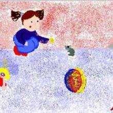 Lila y el ratón - Dibujar Dibujos - Dibujos de NIÑOS - Dibujos de ANIMALES