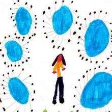 Amina - Dibujar Dibujos - Dibujos de NIÑOS - Dibujo de los niños POR LA PAZ