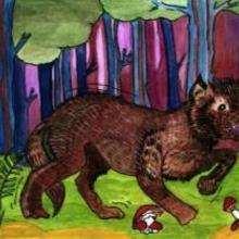 Lobo - Dibujar Dibujos - Imagenes para niños - Imagenes ANIMALES