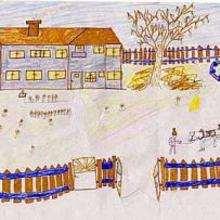 Mi casa en Rumanía - Dibujar Dibujos - Imagenes para niños - Imagenes del MUNDO - En Europa