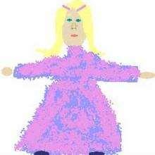 Elsa de Francia - Dibujar Dibujos - Dibujos de NIÑOS - Dibujo de los niños POR LA PAZ