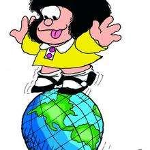 Mafalda en la tierra