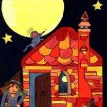 Ilustración : Casa de la bruja