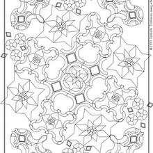 Mandala cemento para imprimir - Dibujos para Colorear y Pintar - Dibujos para colorear MANDALAS - Dibujos de MANDALAS para imprimir