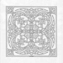 Cuadro mandala - Dibujos para Colorear y Pintar - Dibujos para colorear MANDALAS - MANDALAS para niños para colorear