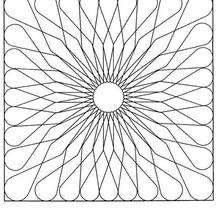 Mandala Margarita - Dibujos para Colorear y Pintar - Dibujos para colorear MANDALAS - MANDALAS DE FLORES para colorear