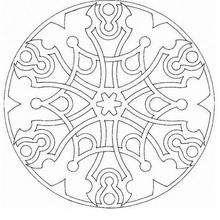 Triskel celta - Dibujos para Colorear y Pintar - Dibujos para colorear MANDALAS - Dibujos para colorear MANDALAS para jovenes