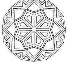 Mandala Ángulos y líneas