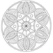 Mandala Nebulosa para imprimir - Dibujos para Colorear y Pintar - Dibujos para colorear MANDALAS - Dibujos de MANDALAS para imprimir