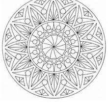 Mandala Bayas para imprimir - Dibujos para Colorear y Pintar - Dibujos para colorear MANDALAS - Dibujos de MANDALAS para imprimir