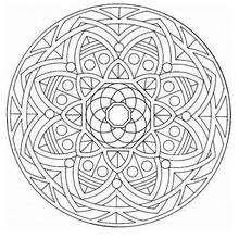 Mandala Flores y frutas - Dibujos para Colorear y Pintar - Dibujos para colorear MANDALAS - MANDALAS DE FLORES para colorear