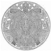 Mandala tortuga - Dibujos para Colorear y Pintar - Dibujos para colorear MANDALAS - Dibujos de MANDALAS DE ANIMALES para colorear