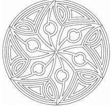 Mandala Rotativa - Dibujos para Colorear y Pintar - Dibujos para colorear MANDALAS - MANDALAS para niños para colorear