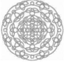 Mandala Nudos y encaje para imprimir - Dibujos para Colorear y Pintar - Dibujos para colorear MANDALAS - Dibujos de MANDALAS para imprimir