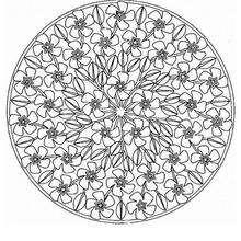 Mandala  Flores de primavera - Dibujos para Colorear y Pintar - Dibujos para colorear MANDALAS - MANDALAS DE FLORES para colorear