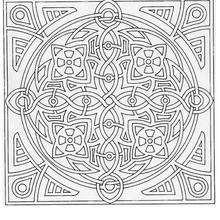 Mandala Laberinto de ruedas para imprimir - Dibujos para Colorear y Pintar - Dibujos para colorear MANDALAS - Dibujos de MANDALAS para imprimir