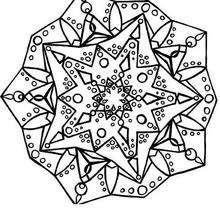 Velas y búrbujas - Dibujos para Colorear y Pintar - Dibujos para colorear MANDALAS - Dibujos para colorear MANDALAS para jovenes